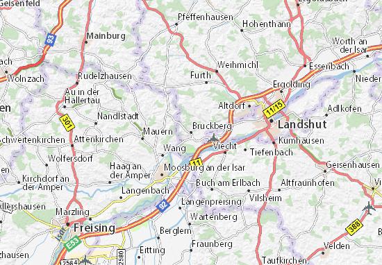 Carte-Plan Bruckberg