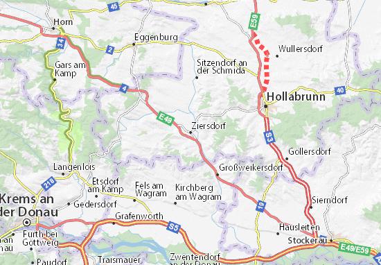 Mapas-Planos Ziersdorf