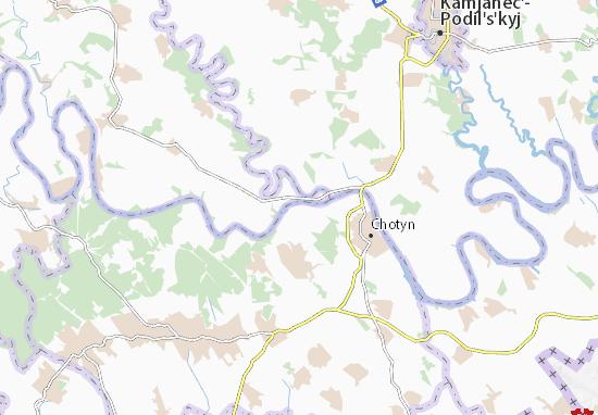 Pryhorodok Map
