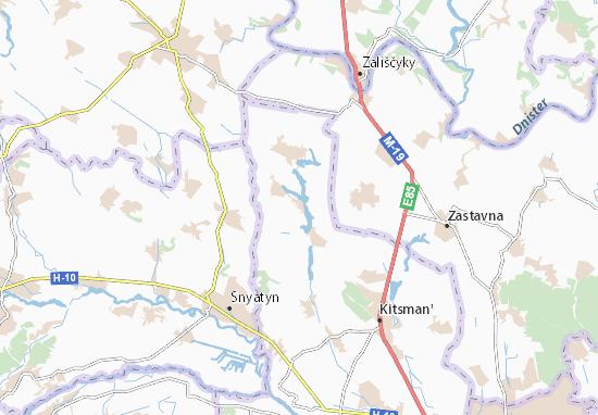 Yuzhynets' Map