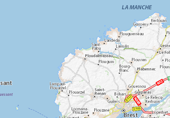 Mappe-Piantine Ploudalmézeau