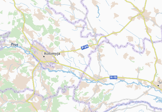 Zahaipil' Map