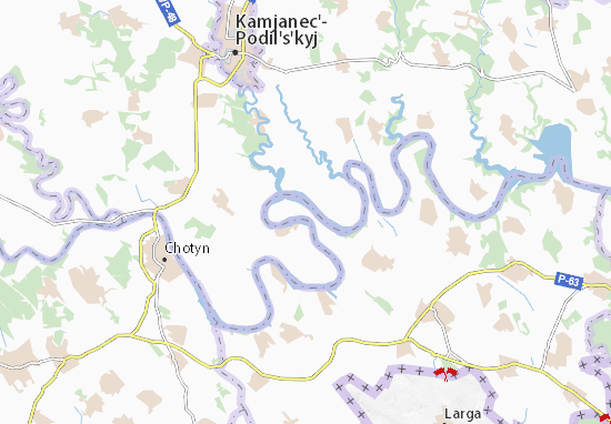 Voronovytsya Map