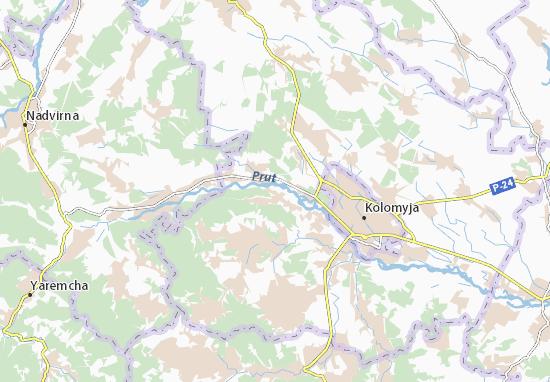 Knyazhdvir Map