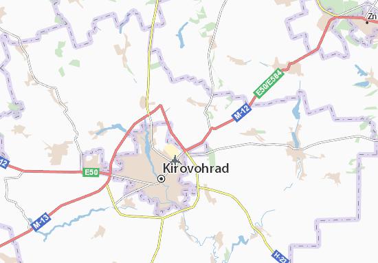 Mapas-Planos Sozonivka