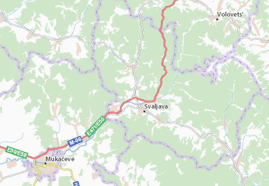 Holubyne Map