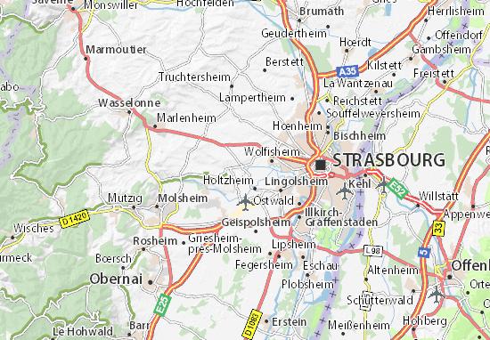 Mappe-Piantine Achenheim
