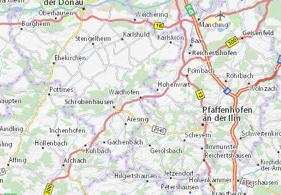 Carte-Plan Waidhofen
