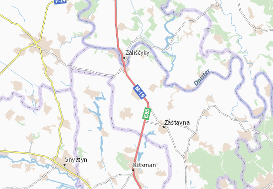 Mapas-Planos Kadubivtsi
