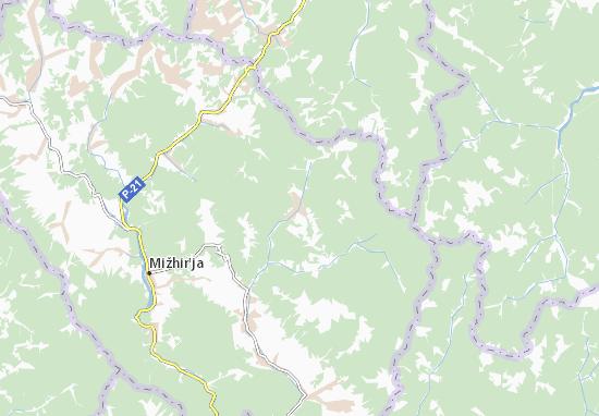 Synevyrs'ka Polyana Map