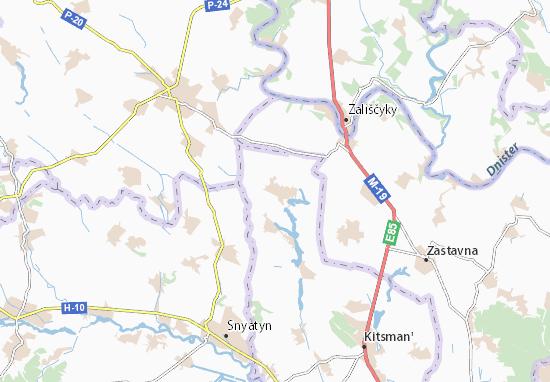 Mapas-Planos Borivtsi
