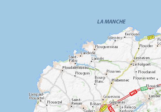 Carte-Plan Landéda