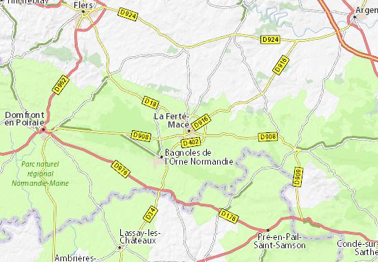 Mappe-Piantine La Ferté-Macé
