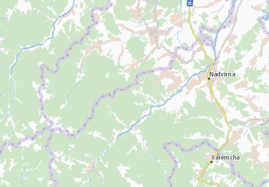 Bukove Map