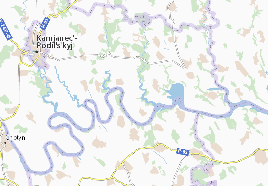 Kalachkivtsi Map