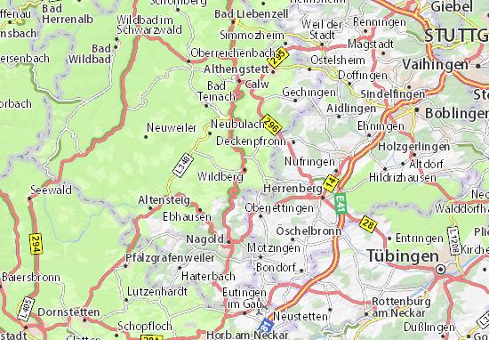 Mapas-Planos Wildberg