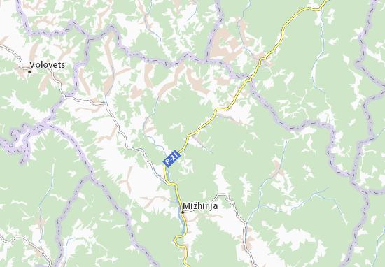 Verchnij Bystryj Map