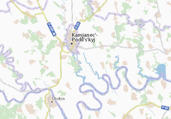 Mapas-Planos Mala Slobidka
