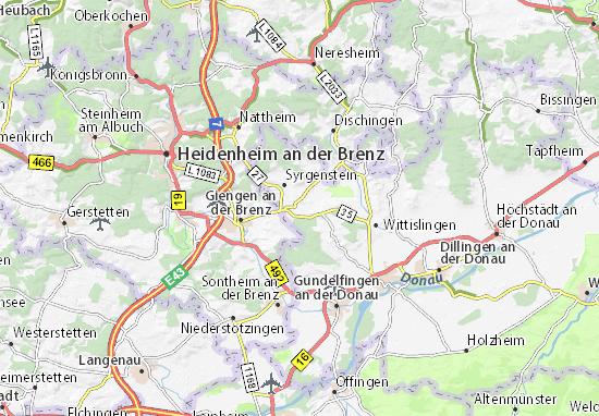 Carte-Plan Bachhagel