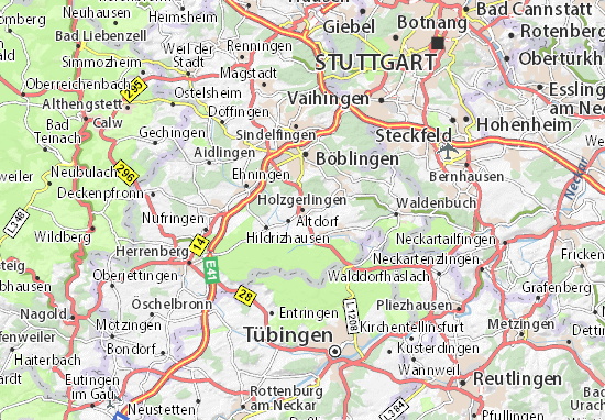 holzgerlingen map