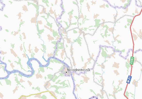 Halaikivtsi Map