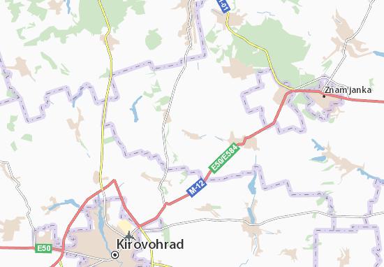 Mapa Plano Kazarnya