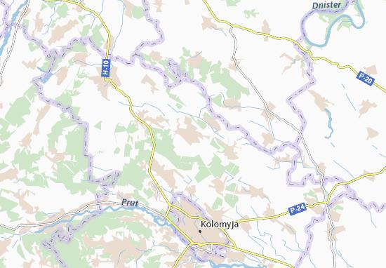 Mapas-Planos Korshiv