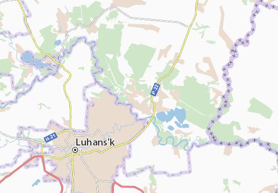 Mappe-Piantine Stanychno-Luhans'ke