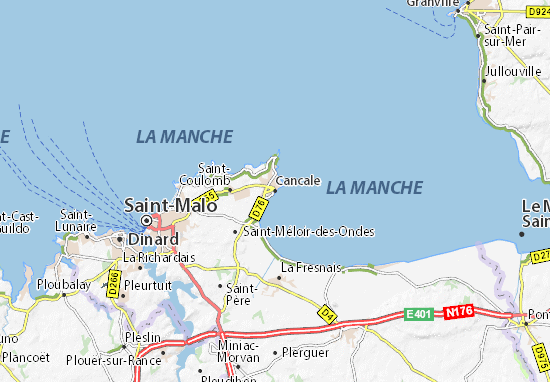 Mappe-Piantine Cancale