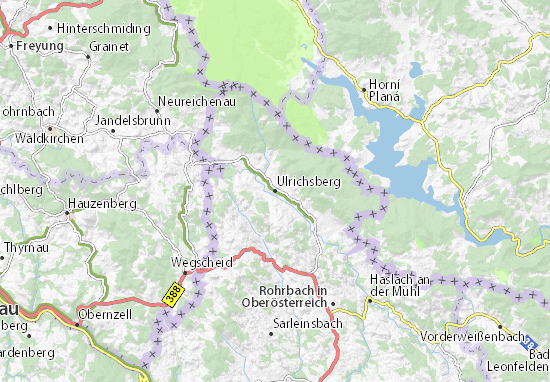 Carte-Plan Ulrichsberg