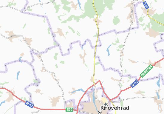 Carte-Plan Osytnyazhka