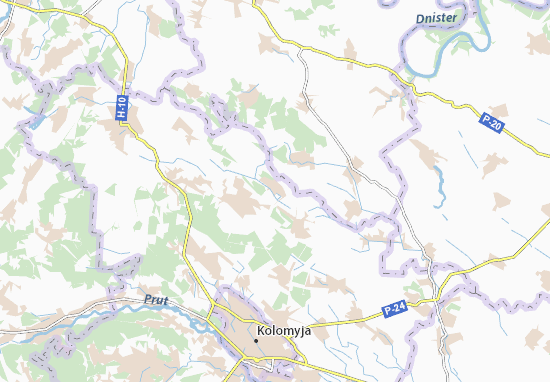 Mapas-Planos Zhukotyn