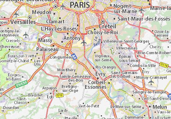 Mapa Plano Viry-Châtillon