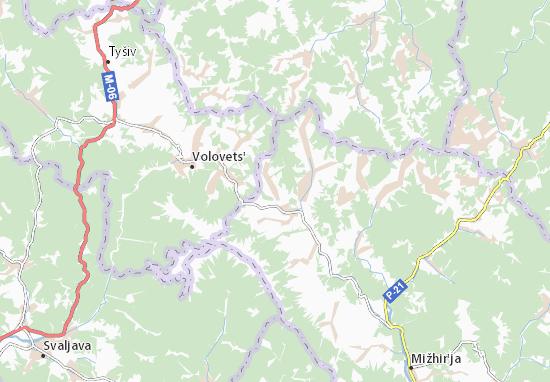 Roztoka Map