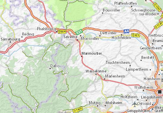 Mapas-Planos Marmoutier