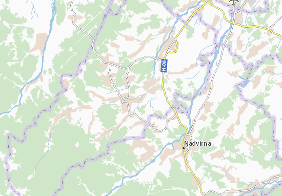 Carte-Plan Monastyrchany