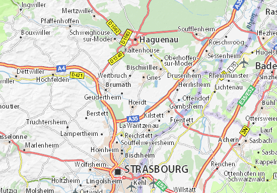 Weyersheim Map