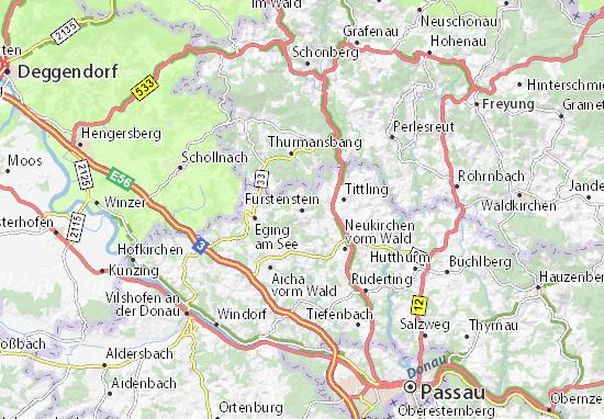 Fürstenstein Map