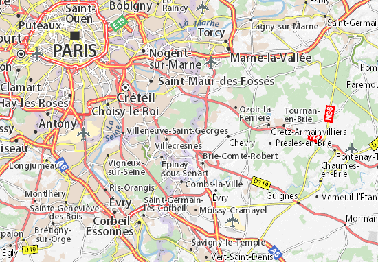 carte d taill e domaine de santeny plan domaine de