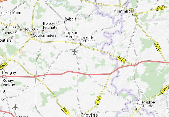 Karte Stadtplan Saint-Mars-Vieux-Maisons