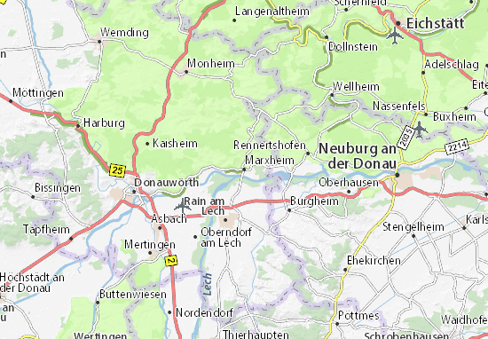 Marxheim Map