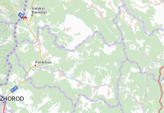 Turychky Map