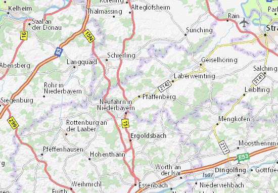 Pfaffenberg Map