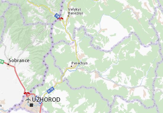 Zarichovo Map