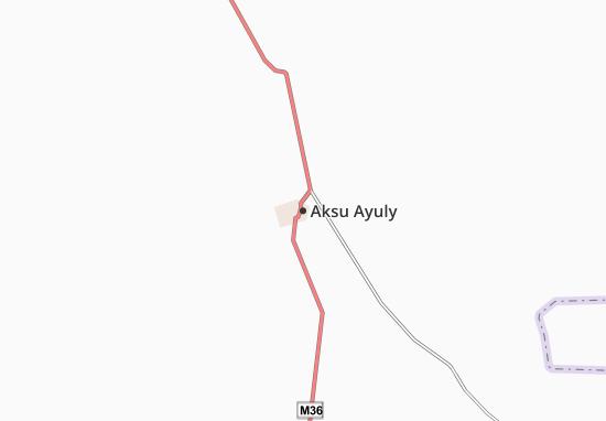 Carte-Plan Aksu Ayuly