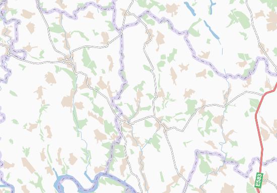 Petrymany Map