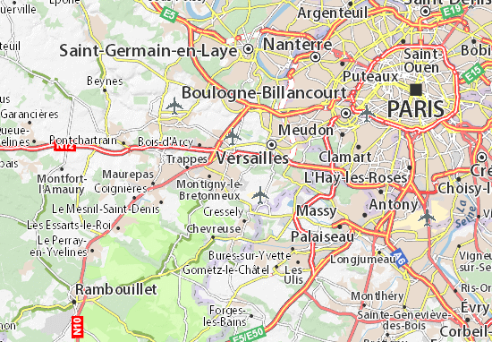 Carte-Plan La Minière