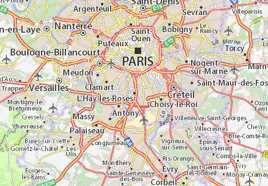 L'Haÿ-les-Roses Map