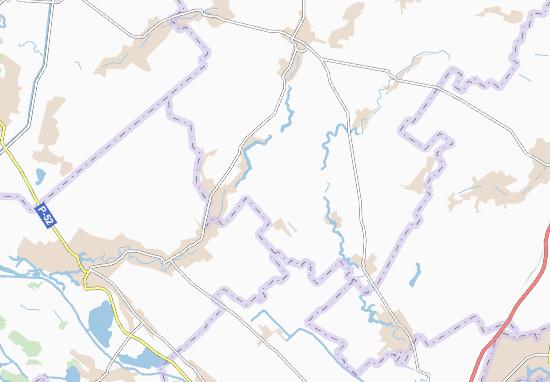 Novovasylivka Map