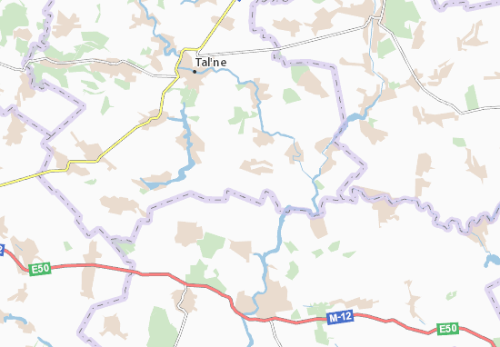 Mapas-Planos Pavlivka Persha